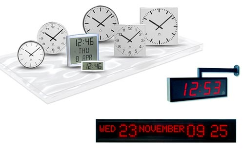 IP-Master-Clock-Systems